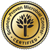 certified science-proven microbial control